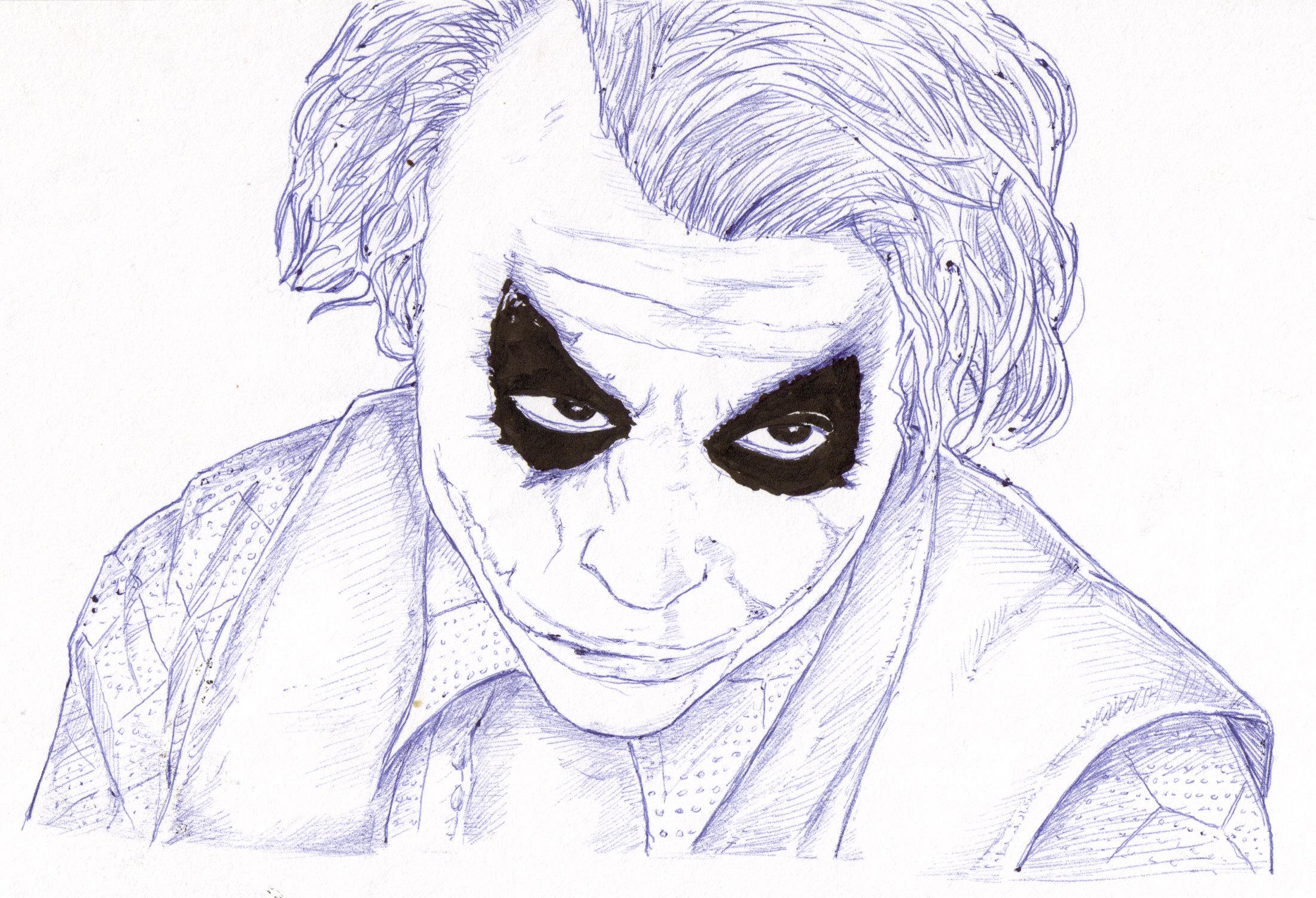Comment dessiner le joker - Comment dessiner joker ...
